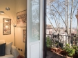 B & B II Boom Rome view balconz