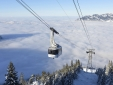 Gondola station within walking distance for your winter days