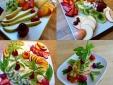 Fruit platters for breakfast