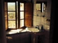 Bathroom with view