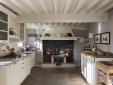 Detail of interior decoration in Tuscan kitchen