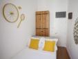 Otilia Apartments Lisbon Portugal Queen Size Bed