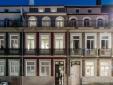 Pasillo Baumhaus Serviced Apartmentos Porto Portugal con encanto