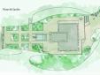 Plan of the garden