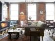 salon at Artist Residence hotel Pezane Conrwall