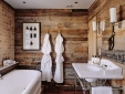 baño de madera at Artist Residence hotel Pezane Conrwall
