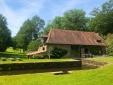 Le Moulin Chalais Dordogne paz jardín naturaleza