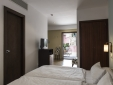 Superior XL room with private terrace (bed area)
