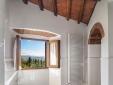 Castello di Spaltenna Tuscany Italy Apartment View