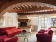 Lucignanello Bandini San Giovanni D'Asso Tuscany Italy Casa Clementina - living room