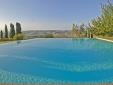 Lucignanello Bandini San Giovanni D'Asso Tuscany Italy The infinity pool