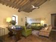 Lucignanello Bandini San Giovanni D'Asso Tuscany Italy Casa Amedeo - living room