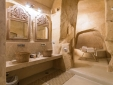 L'Hotel in Pietra Matera Basilicata Italy Suite with bathtub carved in the stone