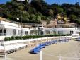 Hotel del Lido Clerici Liguria Hotel en la playa vista mar